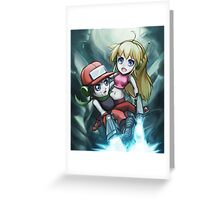 Cave Story Greeting Card