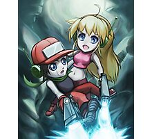 Cave Story Photographic Print