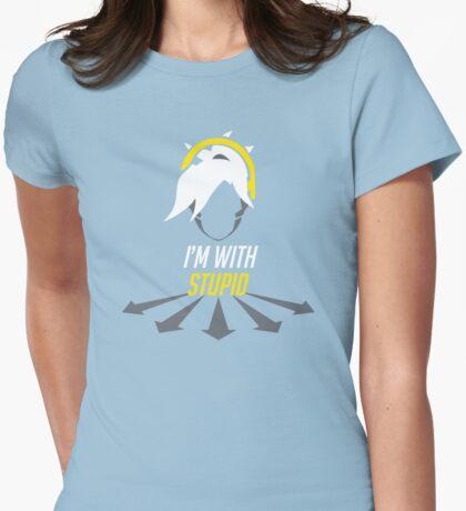 Heroes Always Die Womens Fitted T-Shirt