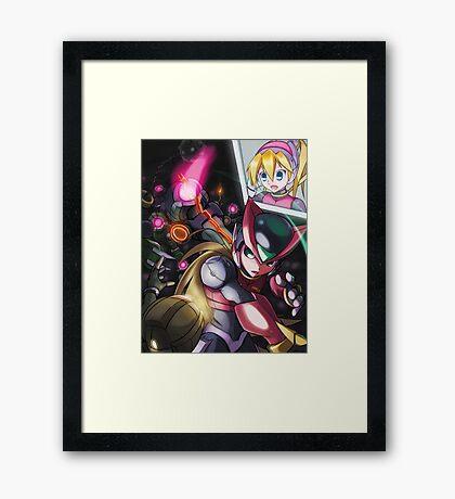 Zero and Pantheons Framed Print