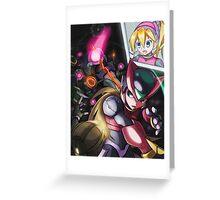 Zero and Pantheons Greeting Card