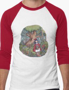 Little Red Riding Hood Men's Baseball ¾ T-Shirt