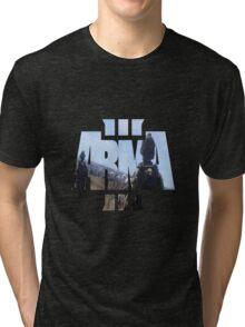 ARMA 3 - Edited Logo Tri-blend T-Shirt
