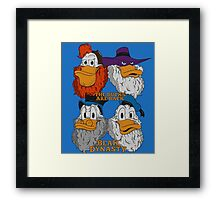 Beak Dynasty Framed Print