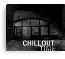 Chillout Time in Old Town Canvas Print