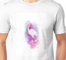 Explosion of Flamingo Unisex T-Shirt