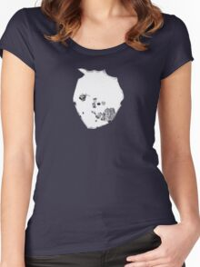 Radiohead - A Moon Shaped Pool Inner Artwork Women's Fitted Scoop T-Shirt