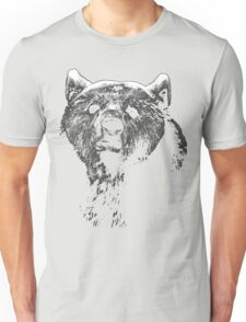 bear black shirt Unisex T-Shirt