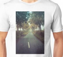 A Misty Road to Nowhere Unisex T-Shirt