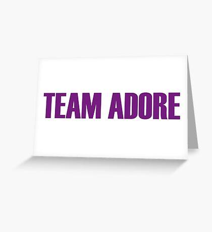 Team Adore Delano All Stars 2 Greeting Card