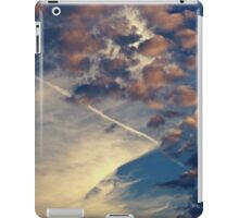 Blue and Pink Clouds iPad Case/Skin
