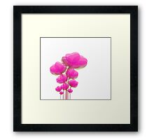Pinky Flowers Framed Print