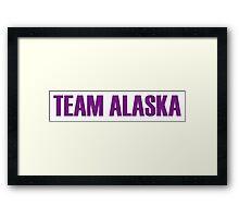 Team Alaska All Stars 2 Framed Print