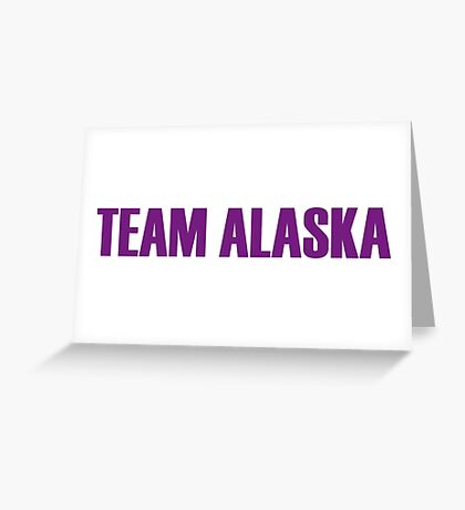 Team Alaska All Stars 2 Greeting Card