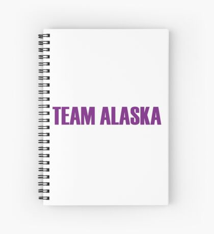 Team Alaska All Stars 2 Spiral Notebook