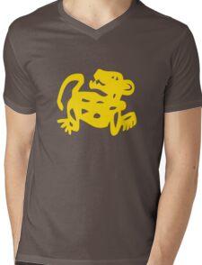 Red Jaguars Legends of the Hidden Temple Shirt Mens V-Neck T-Shirt