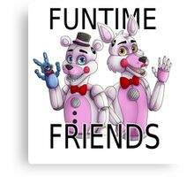 Funtime Friends Canvas Print