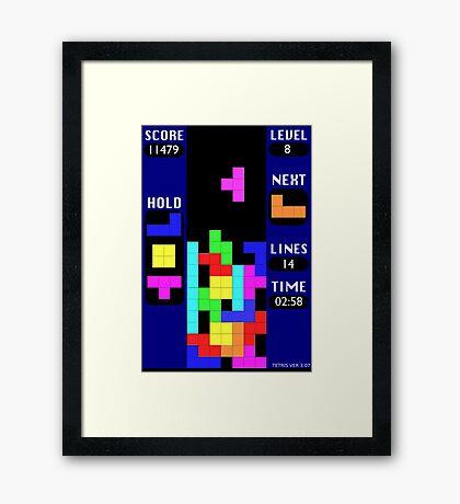 The Blocks Are Back Framed Print