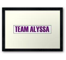 Team Alyssa Edwards All Stars 2 Framed Print