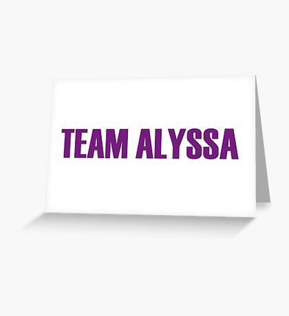 Team Alyssa Edwards All Stars 2 Greeting Card