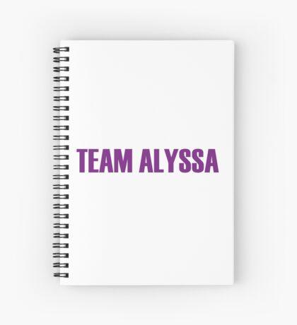 Team Alyssa Edwards All Stars 2 Spiral Notebook