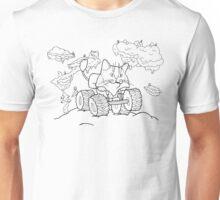 Meownster Truck Outlined Unisex T-Shirt