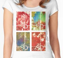 ab canvas Women's Fitted Scoop T-Shirt