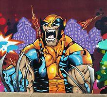 Wolverine Graffiti Art by JayJay70