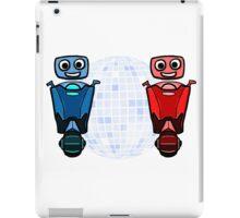 RRDDD Red and Blue Disco iPad Case/Skin
