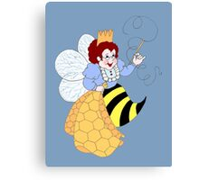 Bee Muse Canvas Print