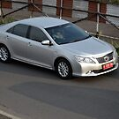 silver colored toyota camry by bayu harsa