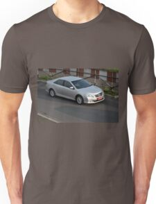 silver colored toyota camry Unisex T-Shirt