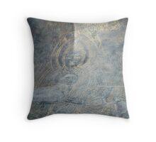 Buddha engraving  Throw Pillow