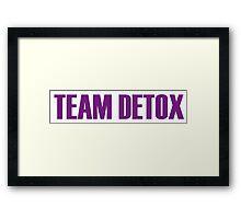 Team Detox All Stars 2 Framed Print