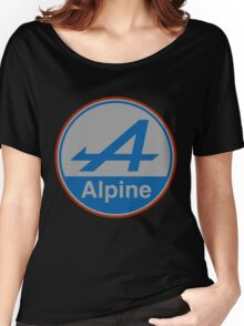 Alpine Hoodie(Fitment) Women's Relaxed Fit T-Shirt