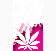 Pink Cannabis Unisex T-Shirt