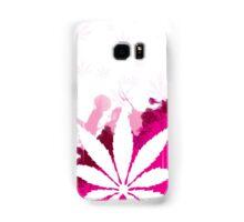 Pink Cannabis Samsung Galaxy Case/Skin