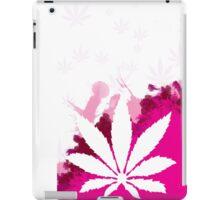 Pink Cannabis iPad Case/Skin