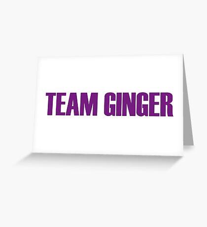 Team Ginger Minj All Stars 2 Greeting Card