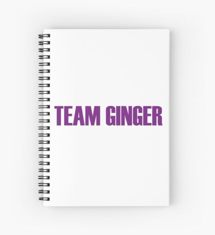 Team Ginger Minj All Stars 2 Spiral Notebook