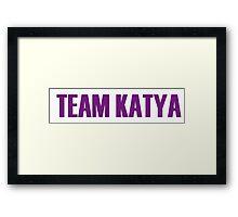 Team Katya All Stars 2 Framed Print