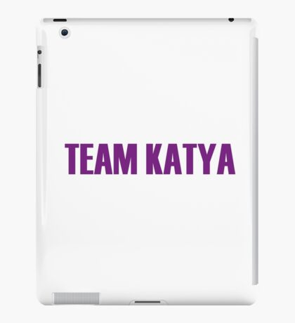 Team Katya All Stars 2 iPad Case/Skin