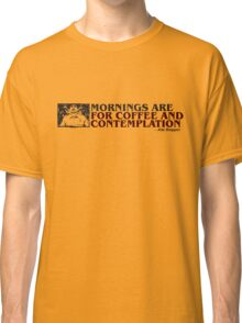 Stranger Things Coffee and contemplation Classic T-Shirt