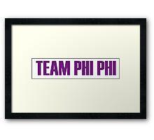 Team Phi Phi O'hara All Stars 2 Framed Print