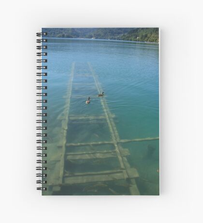Clear water Spiral Notebook