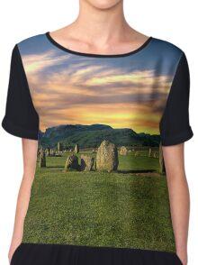 Castlerigg Stone Circle Chiffon Top