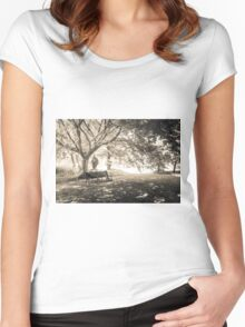 Empty Bench Women's Fitted Scoop T-Shirt