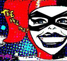 Tee Hee Hee! / Harley by Cecilia Valdez