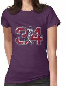 34 - Big Papi (vintage) Womens Fitted T-Shirt