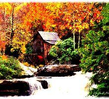 Glade Creek Grist Mill by SteelCityArtist